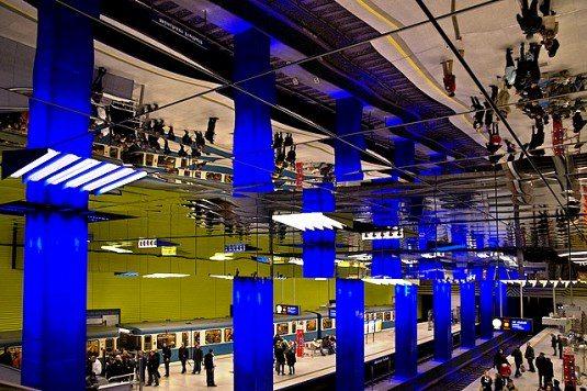 Münchner Freiheit U-Bahn