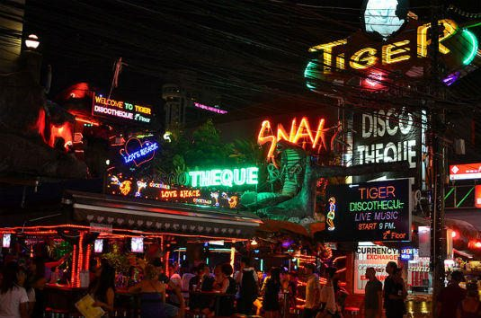 10 of the Best Places to Party in Asia.Party Phuket Patong Beach2