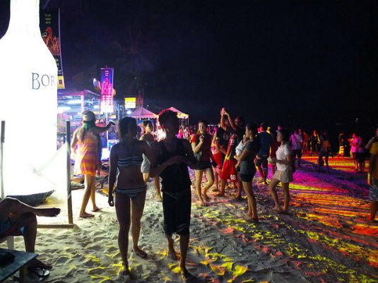 10 of the Best Places to Party in Asia. Party Boracay Philippines