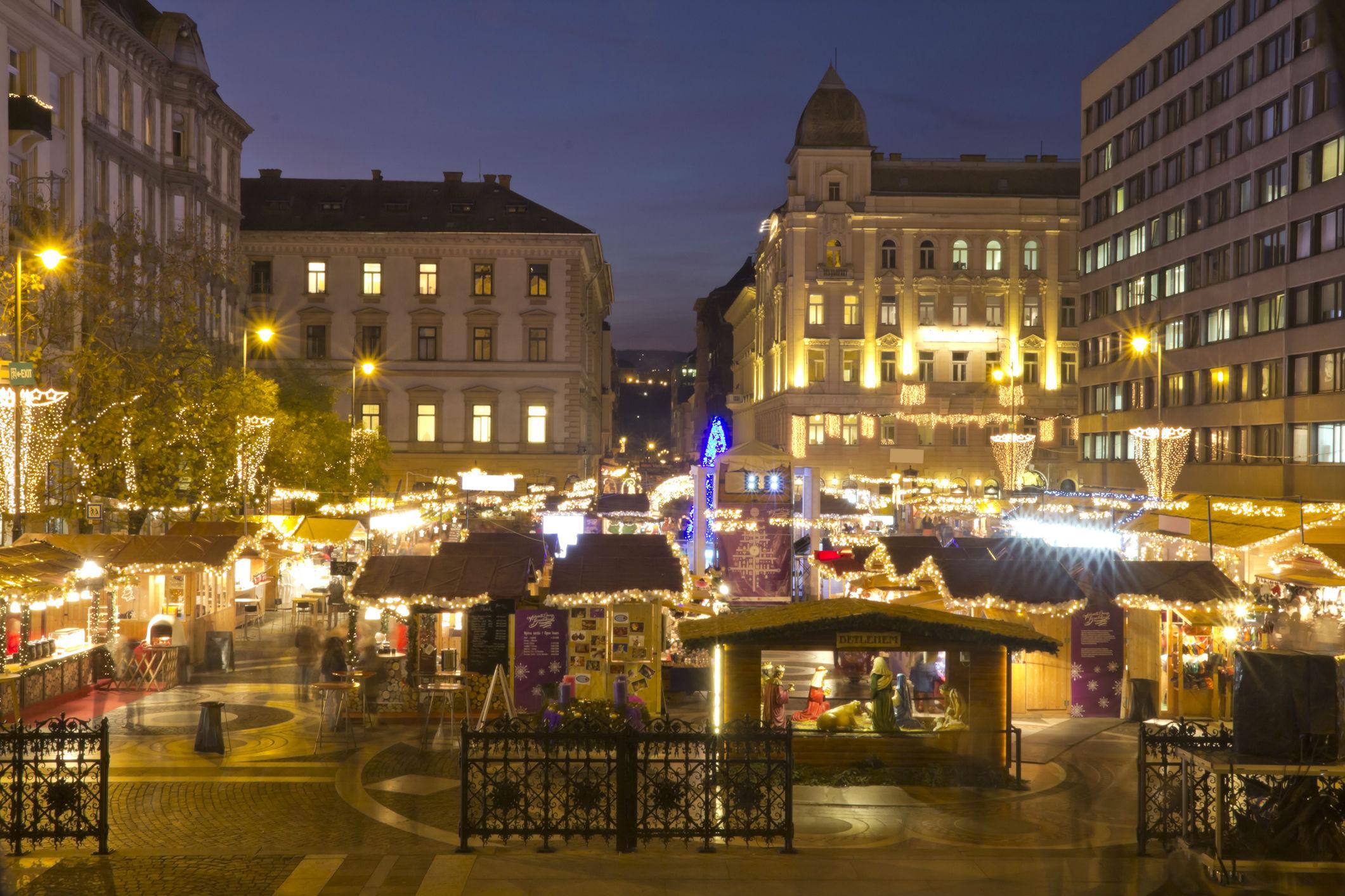 séjour noël original - Budapest