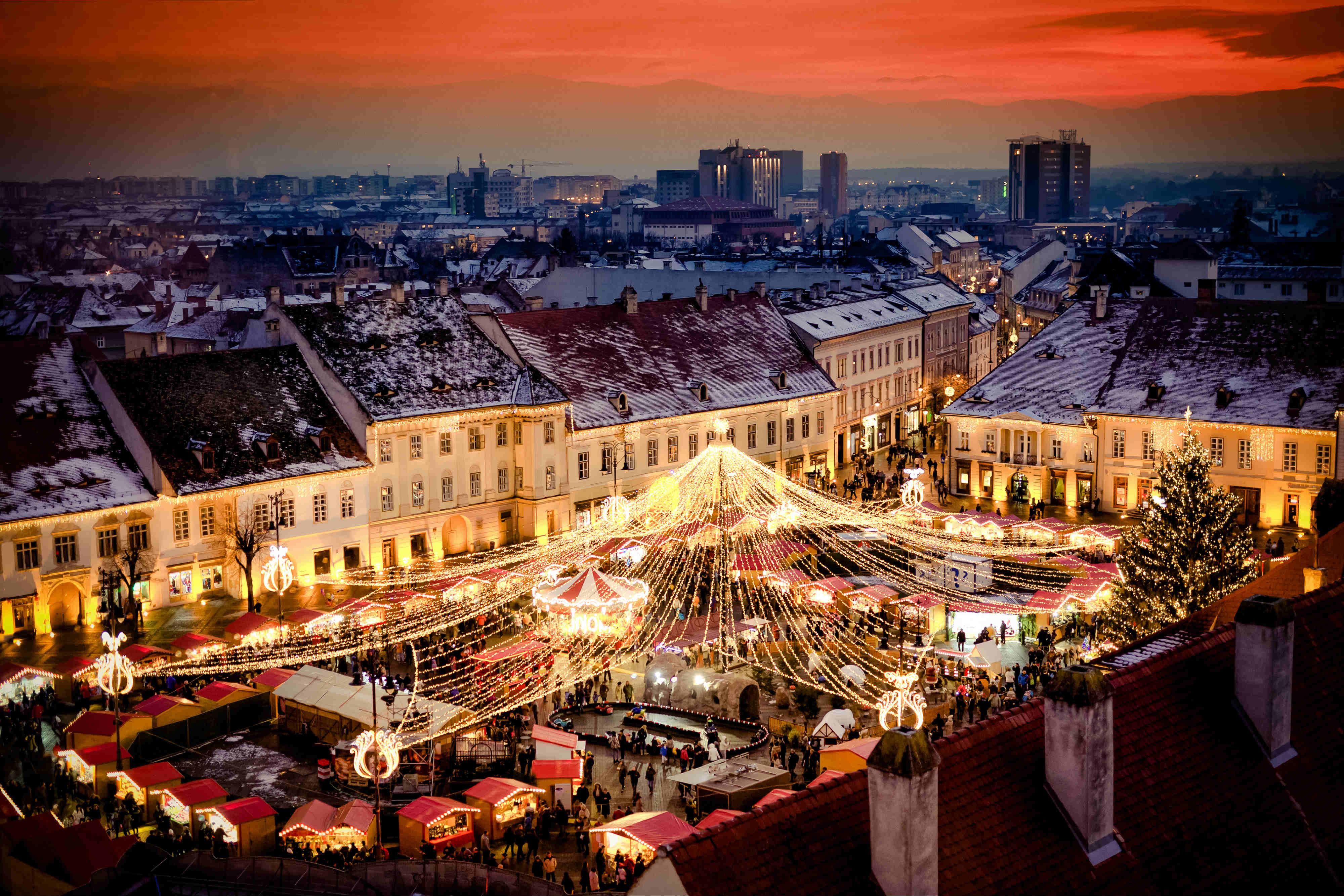 sejour noel original - Roumanie
