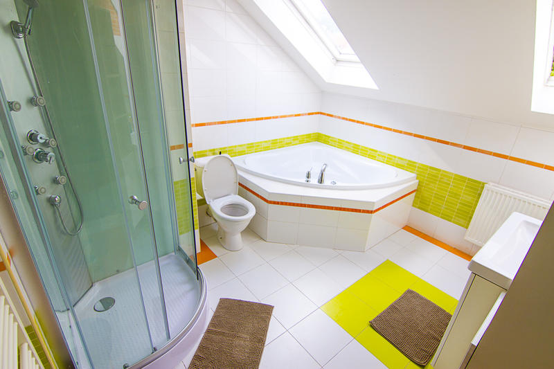 Best Hostels in Prague - brix hostel bathroom