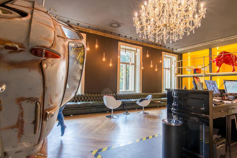 Best Hostels in Prague - red bull
