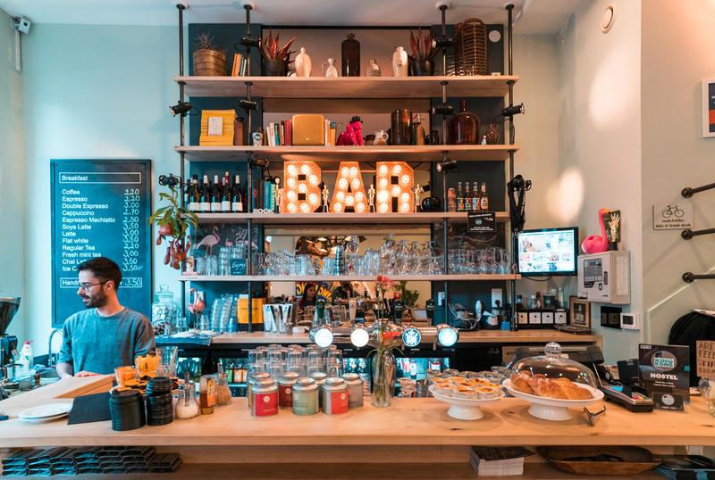 King Kong Hostel bar – Rotherham, Netherlands