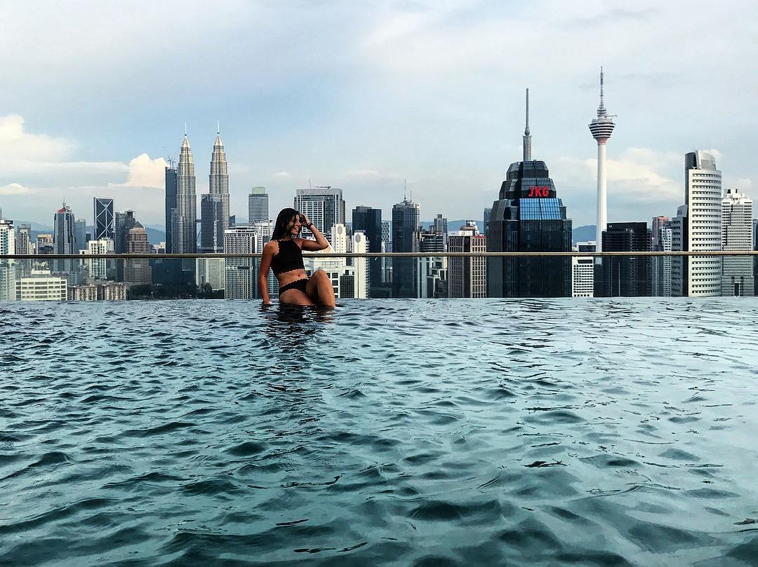 hostel con piscina singapur