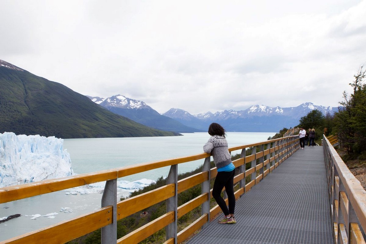 Visitar Perito Moreno, La Patagonia