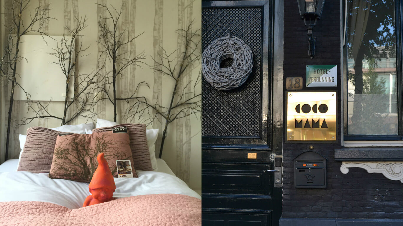 Where to stay in Amsterdam,cocomama-collage