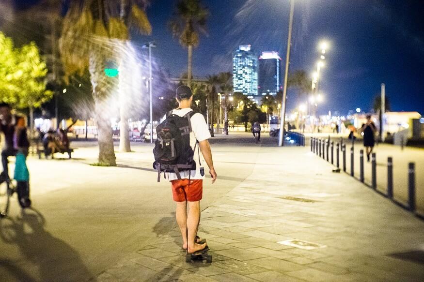 Skating in Barcelona (c) Joao camilo
