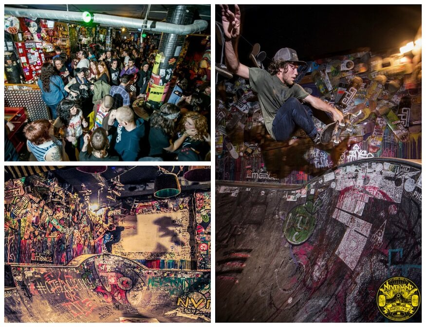 Skate Barcelona - Nevermind Bar