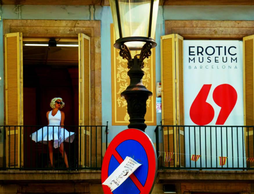 bucket list ideas - erotic museum barcelona