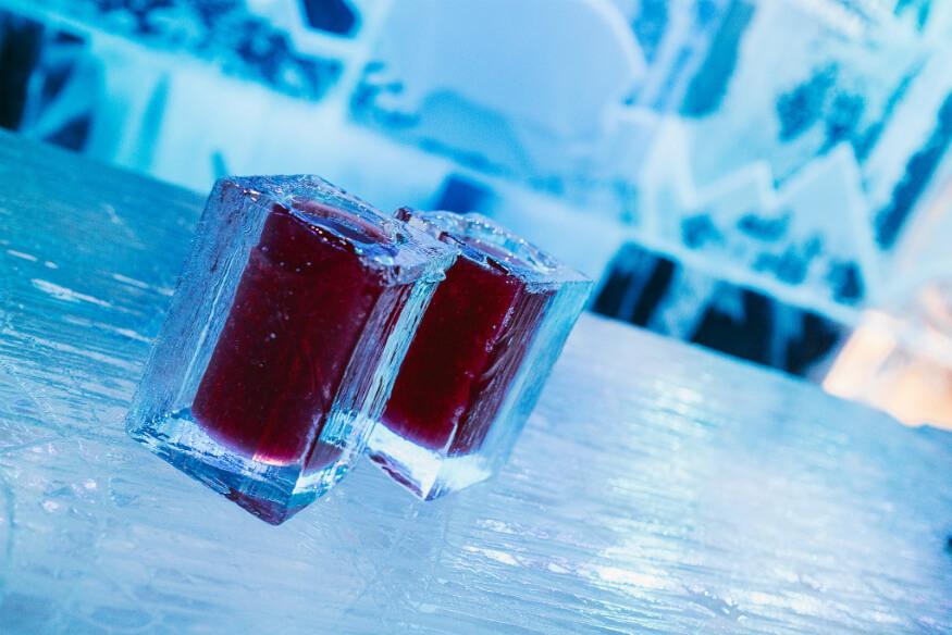 bucket list ideas - ice bar in Sweden