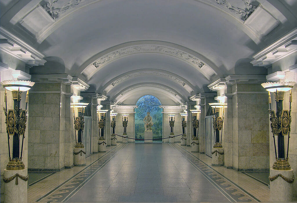bucket list - tube station in moscow