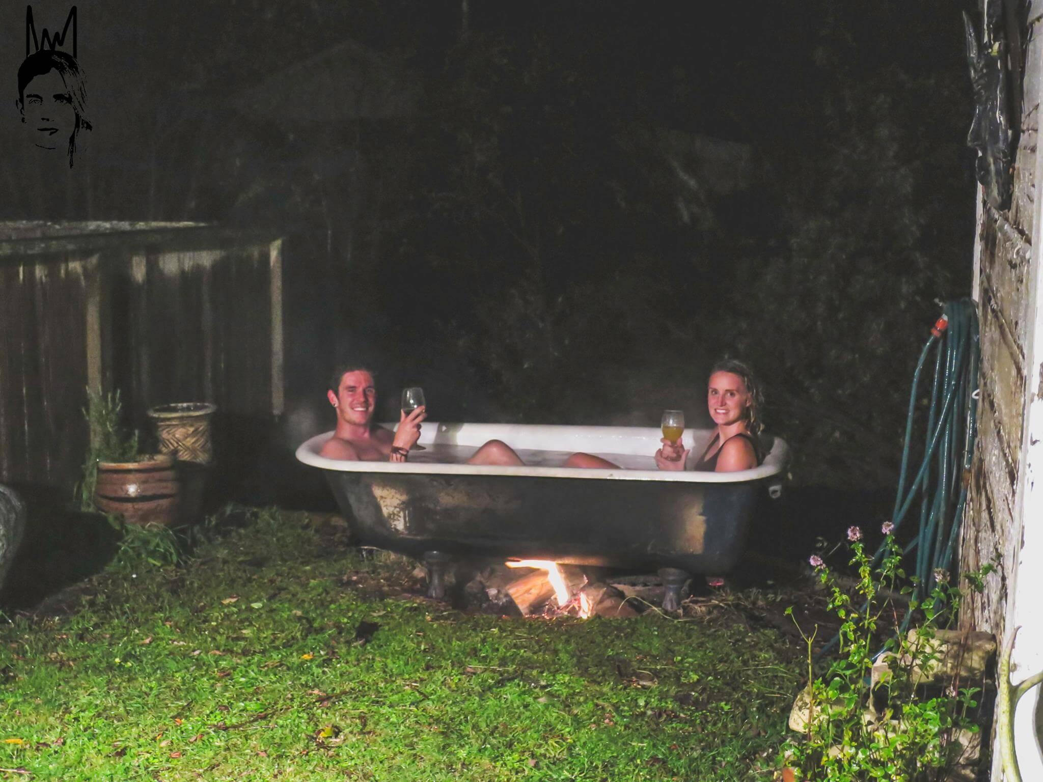 Bucket List Ideas - outdoor bath in Ohakune