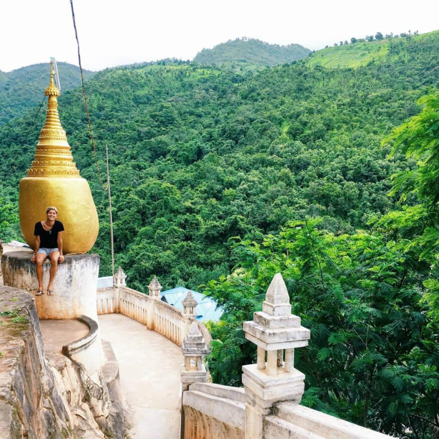 bucket list ideas - forest monastery