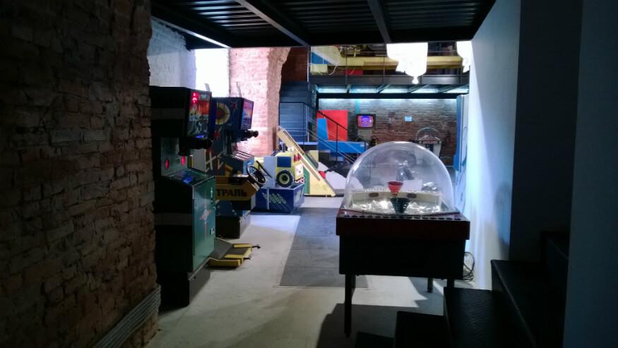 bucket list ideas - moscow arcade games museum