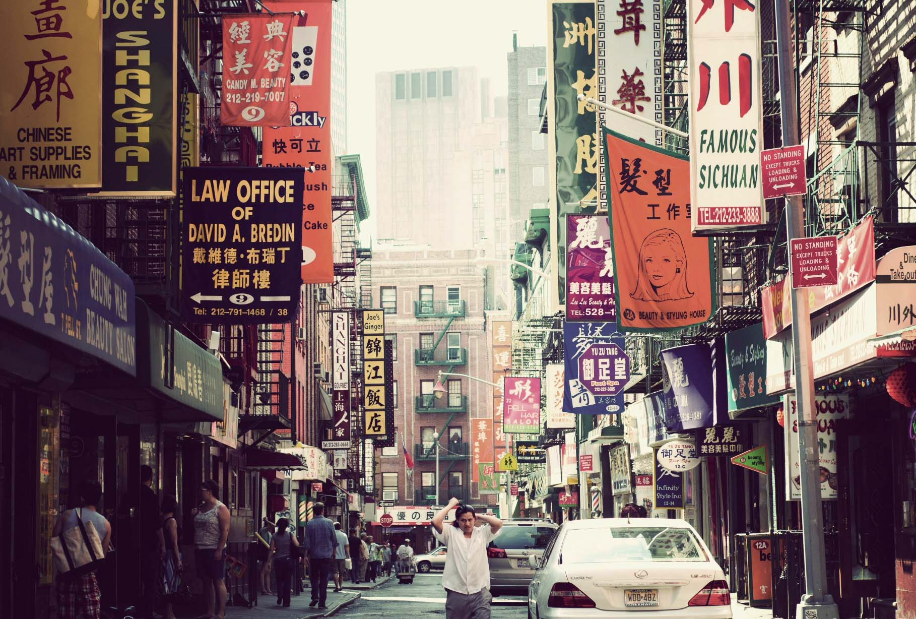 Manhattan's Chinatown - One of the best places for Chinese food in New York
