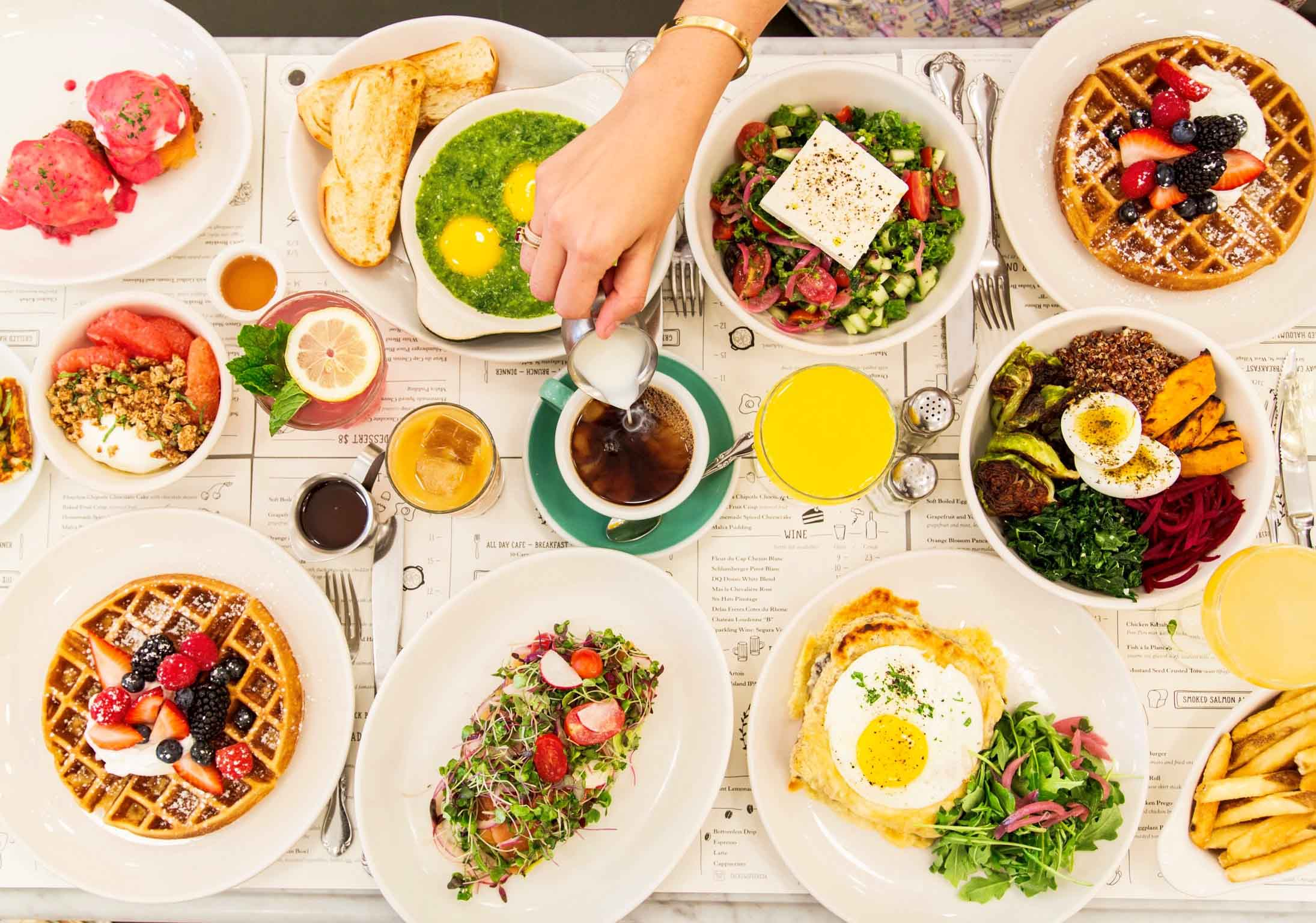 Jack's Wife Freda is a great place to find a cheap and delicious brunch