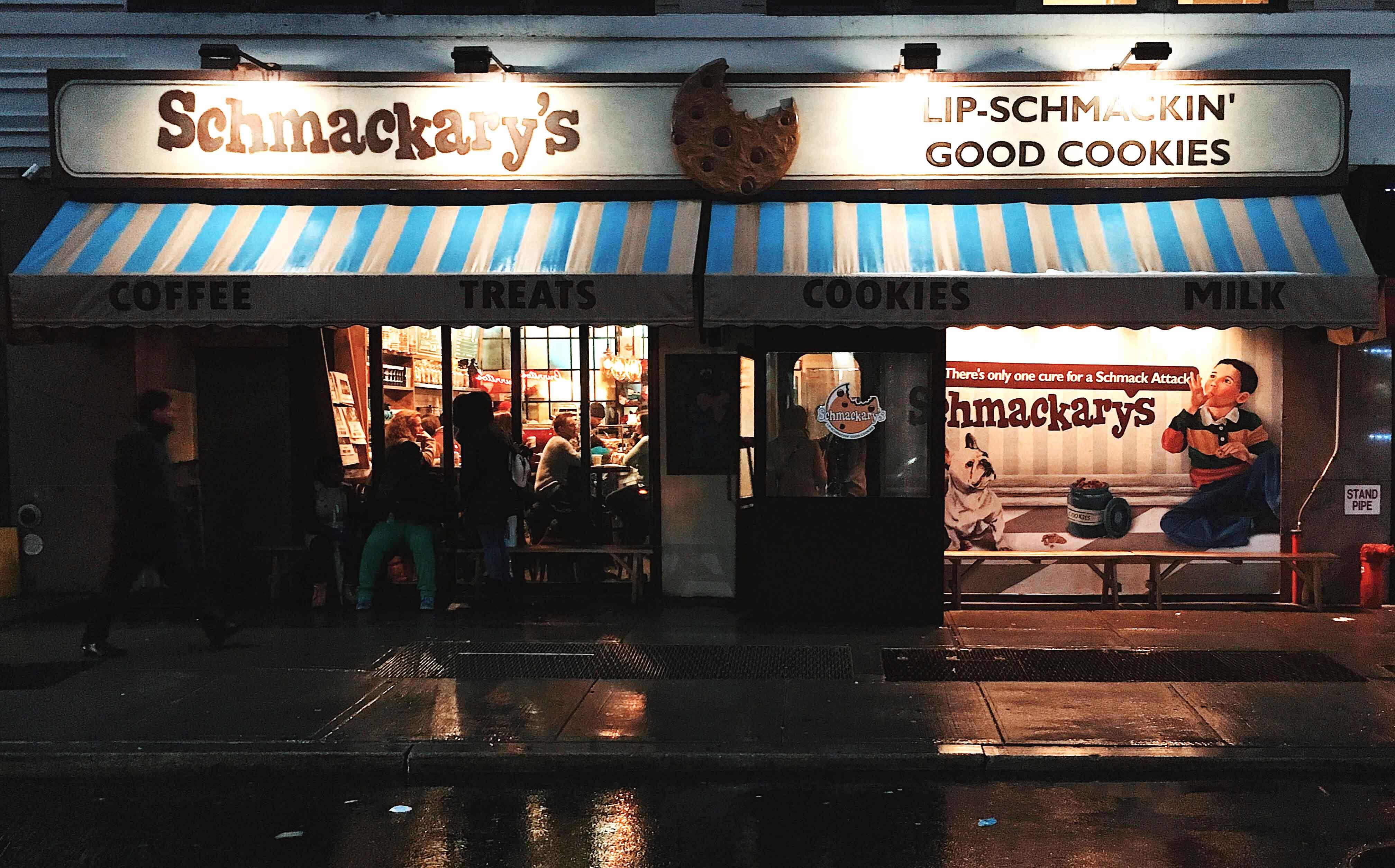 Image of Schmackarays Bakery in New York