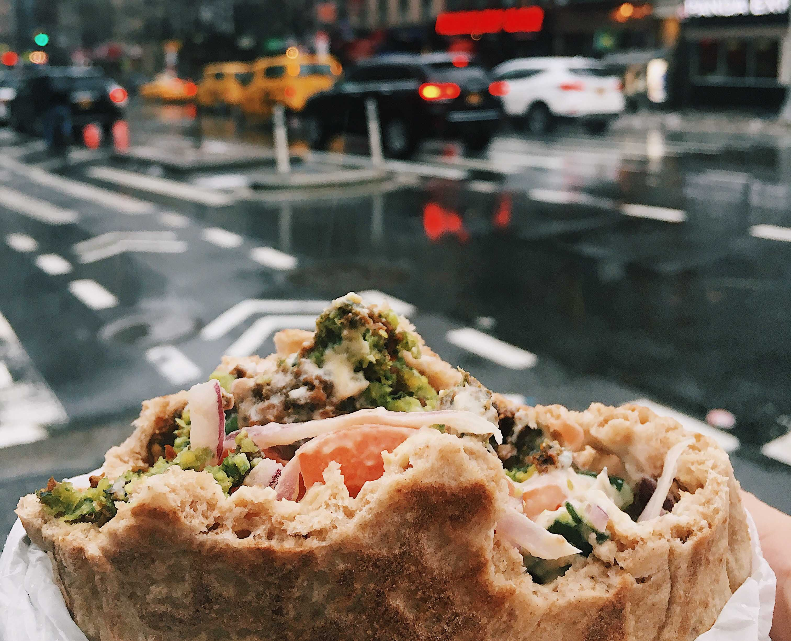 Food from Wrapido - Lunch options in NYC for less than $7