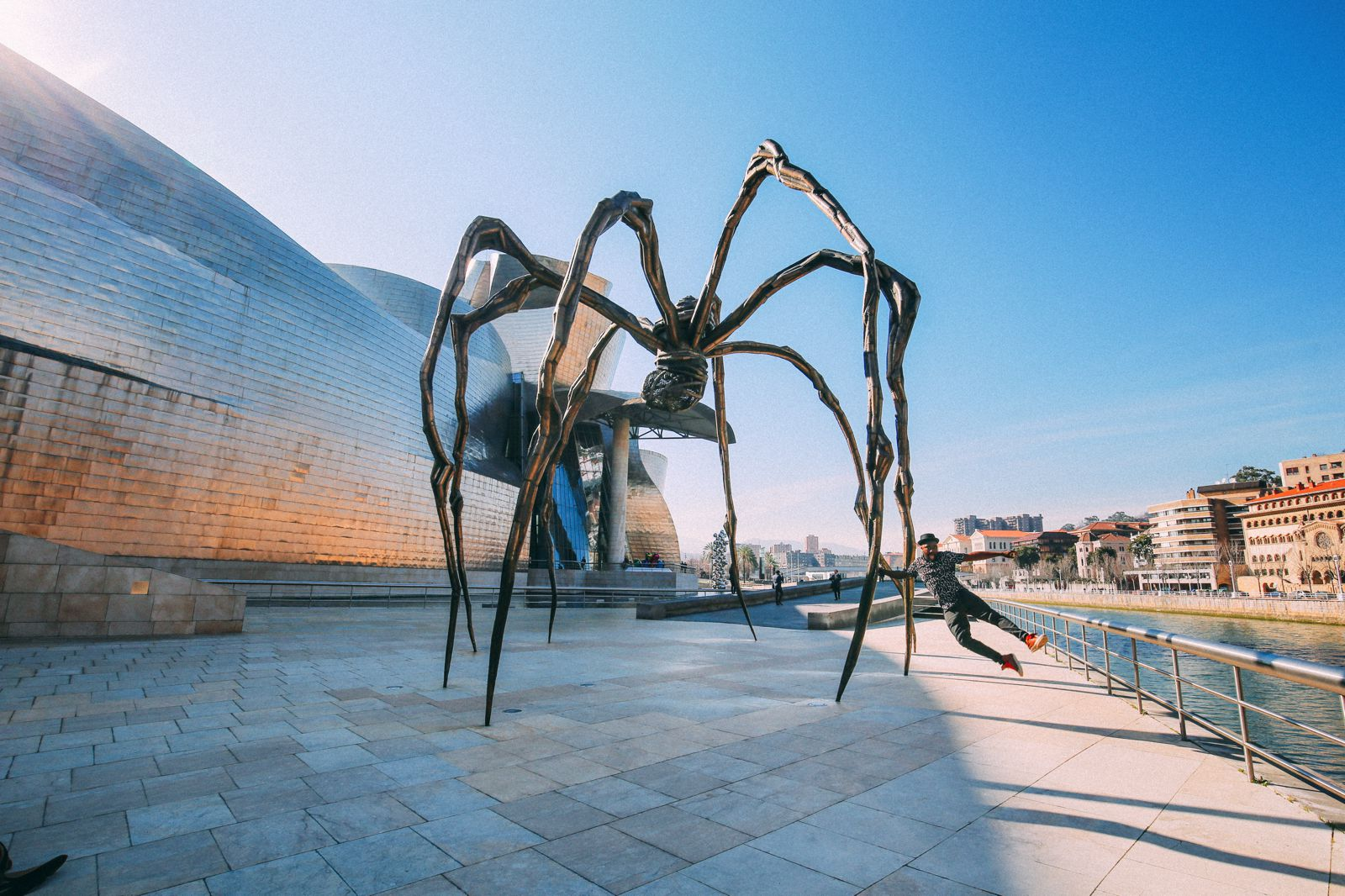 best places to visit in spain / bilbao