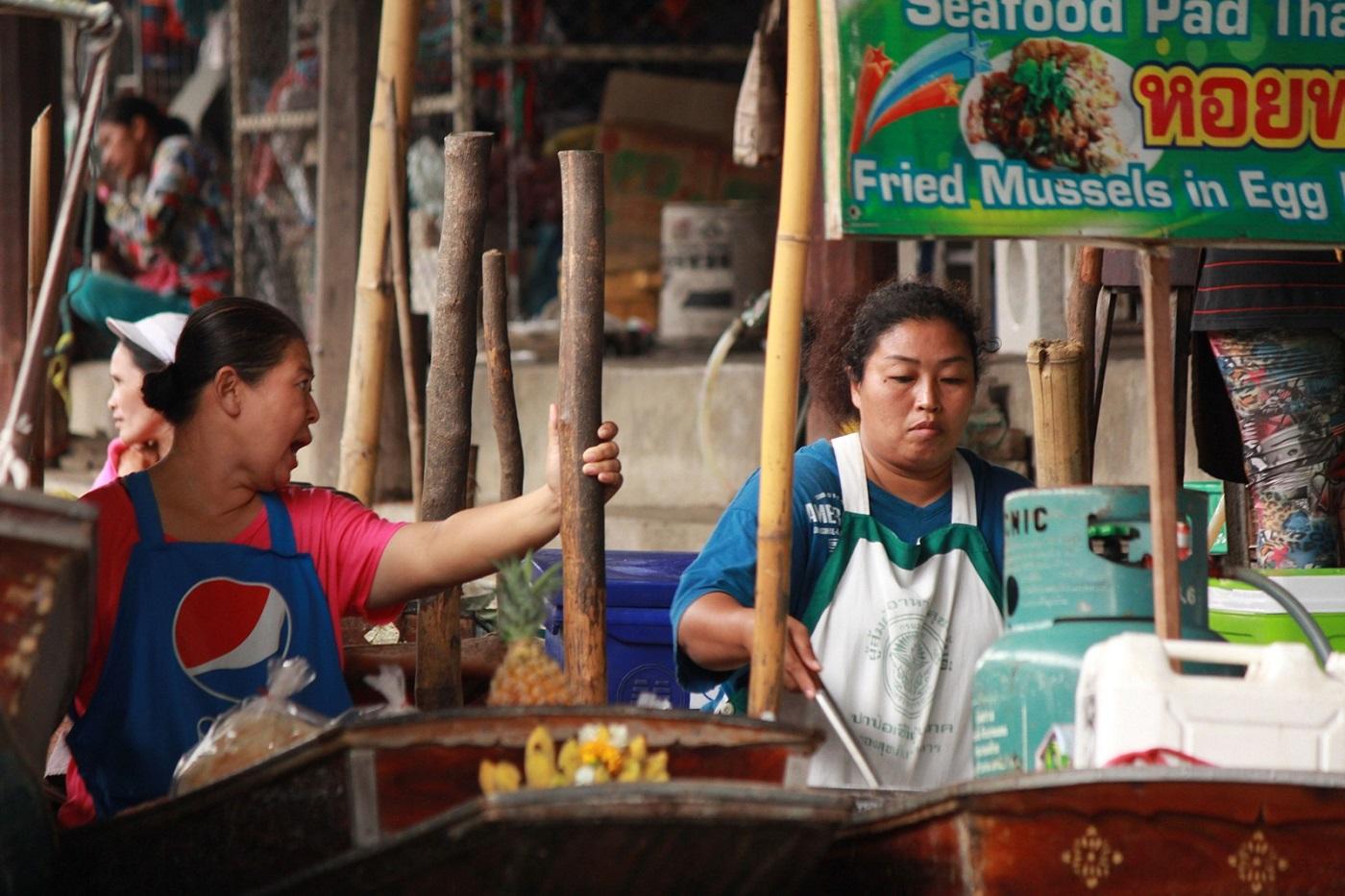 bangkok markets floating market Damnoen Saduak