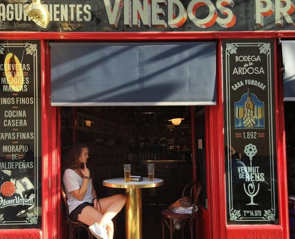 best bars in madrid bodega de la ardosa @palo_busta