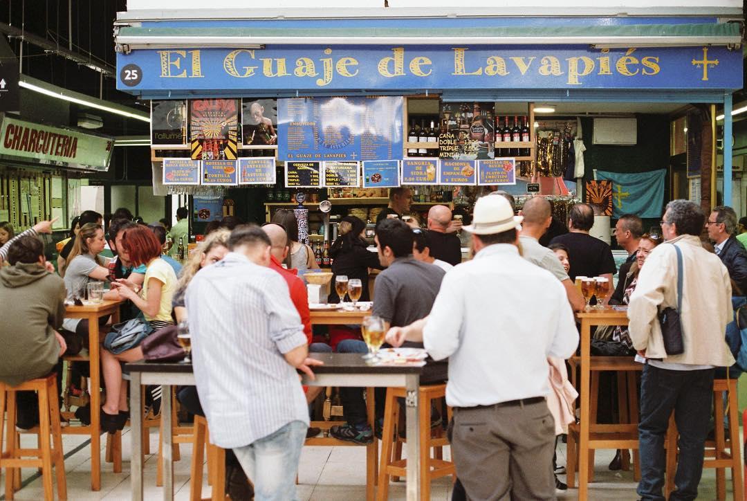 bares madrid centro, mercado de san fernando @felixzamarra