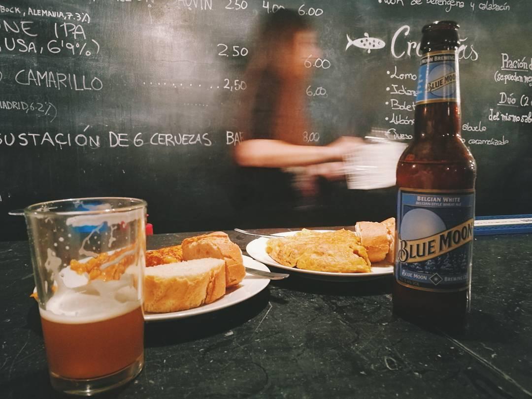 bares guays madrid, pez tortilla @factoriadecerveza