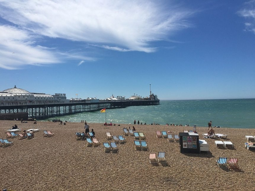 Best Places to Visit in England - Brighton Beach