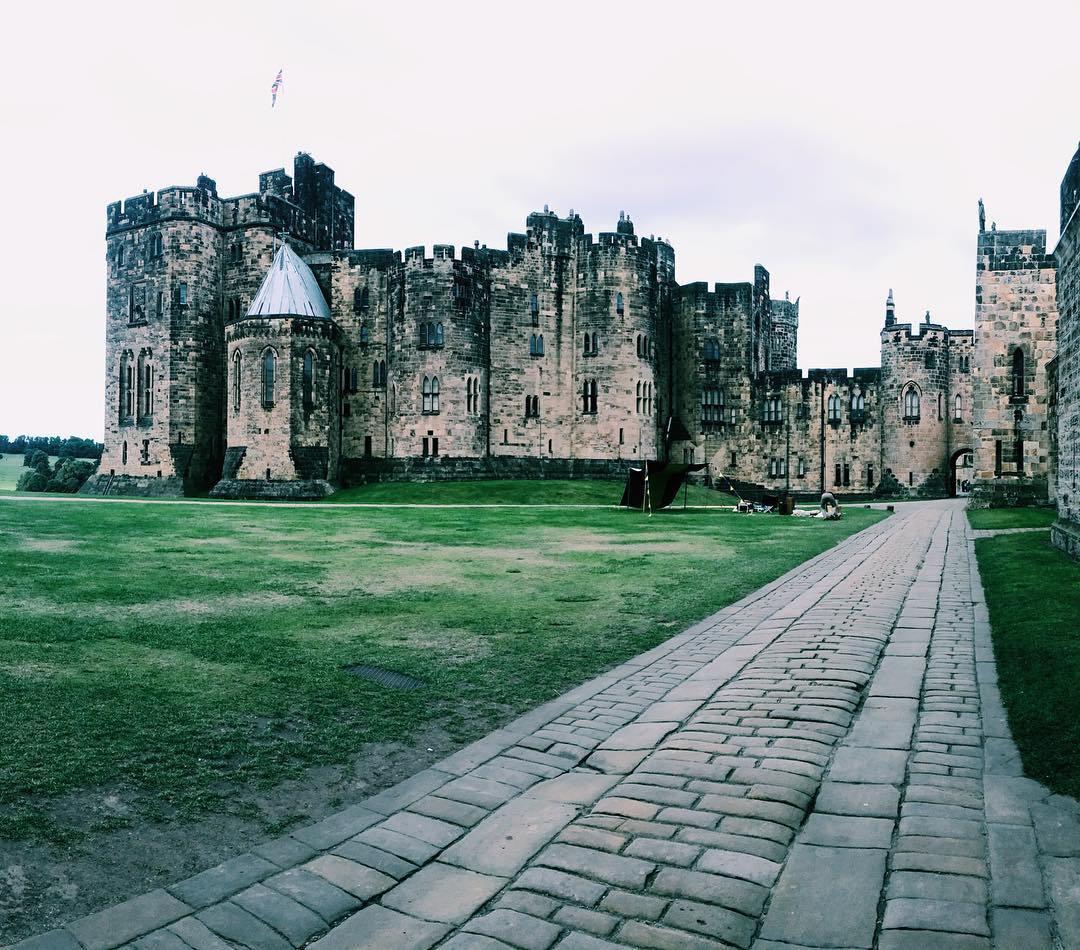 Best Places to Visit in England - Alnwick Castle in Northumberland