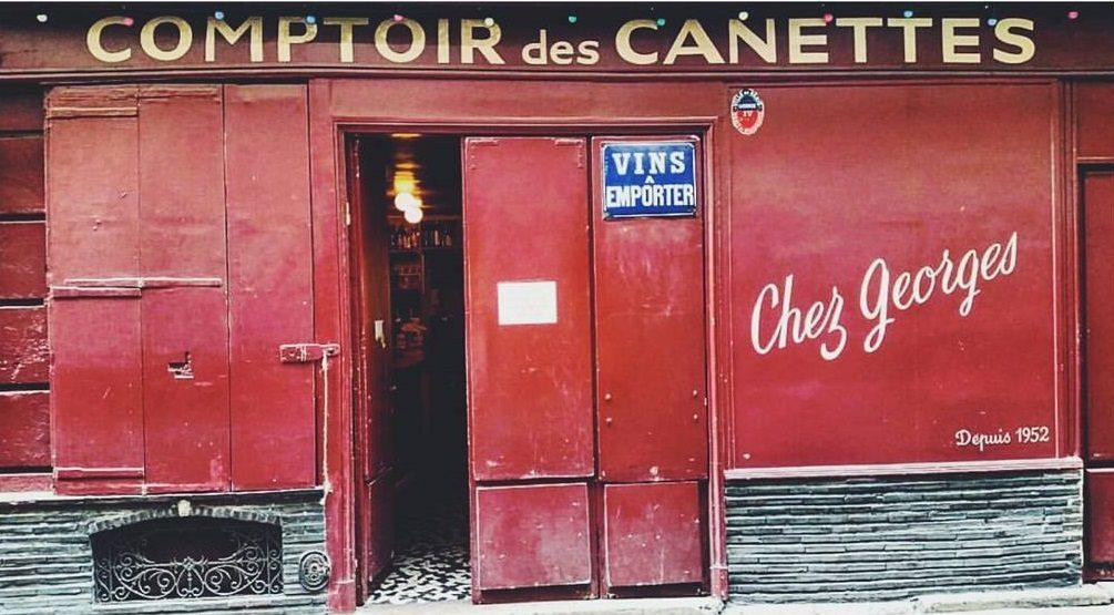 best bars in paris chez georges @liliedenn