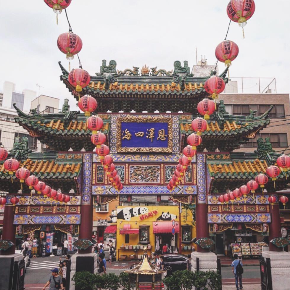 best places to visit in japan yokohama chinatown @misstaolin