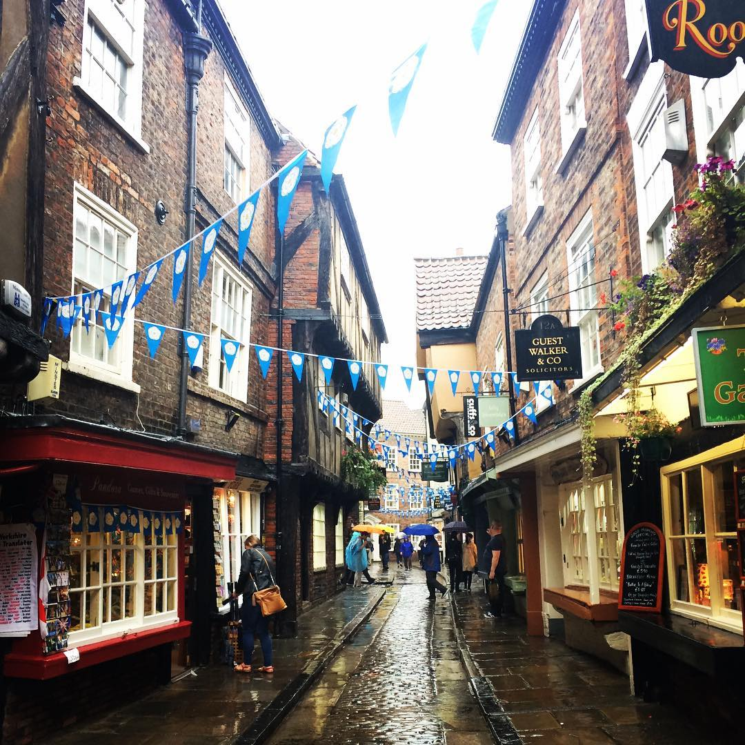 Best Places to Visit in England - The Cobbled Streets of The Shambles in York