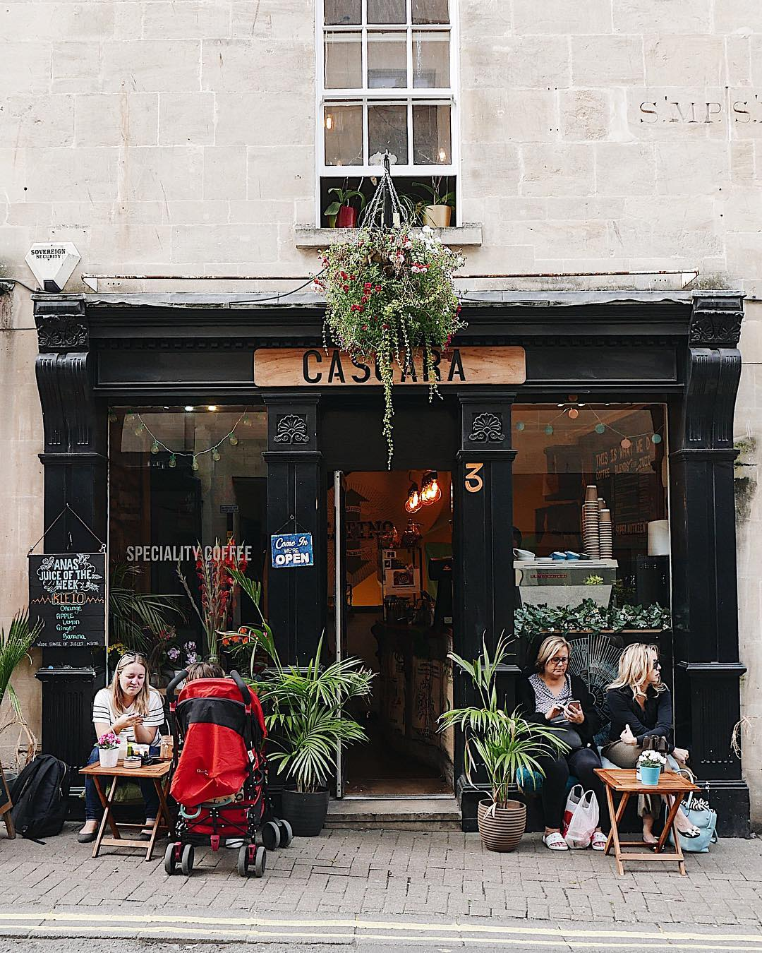 Best Places to Visit in England - Tea and cakes in Bath at Cascara