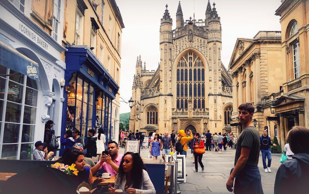 Best Places to Visit in England - Bath Abbey
