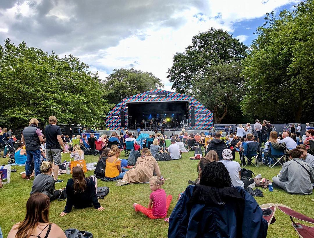 Best Places to Visit in England - Free music festival in Liverpool