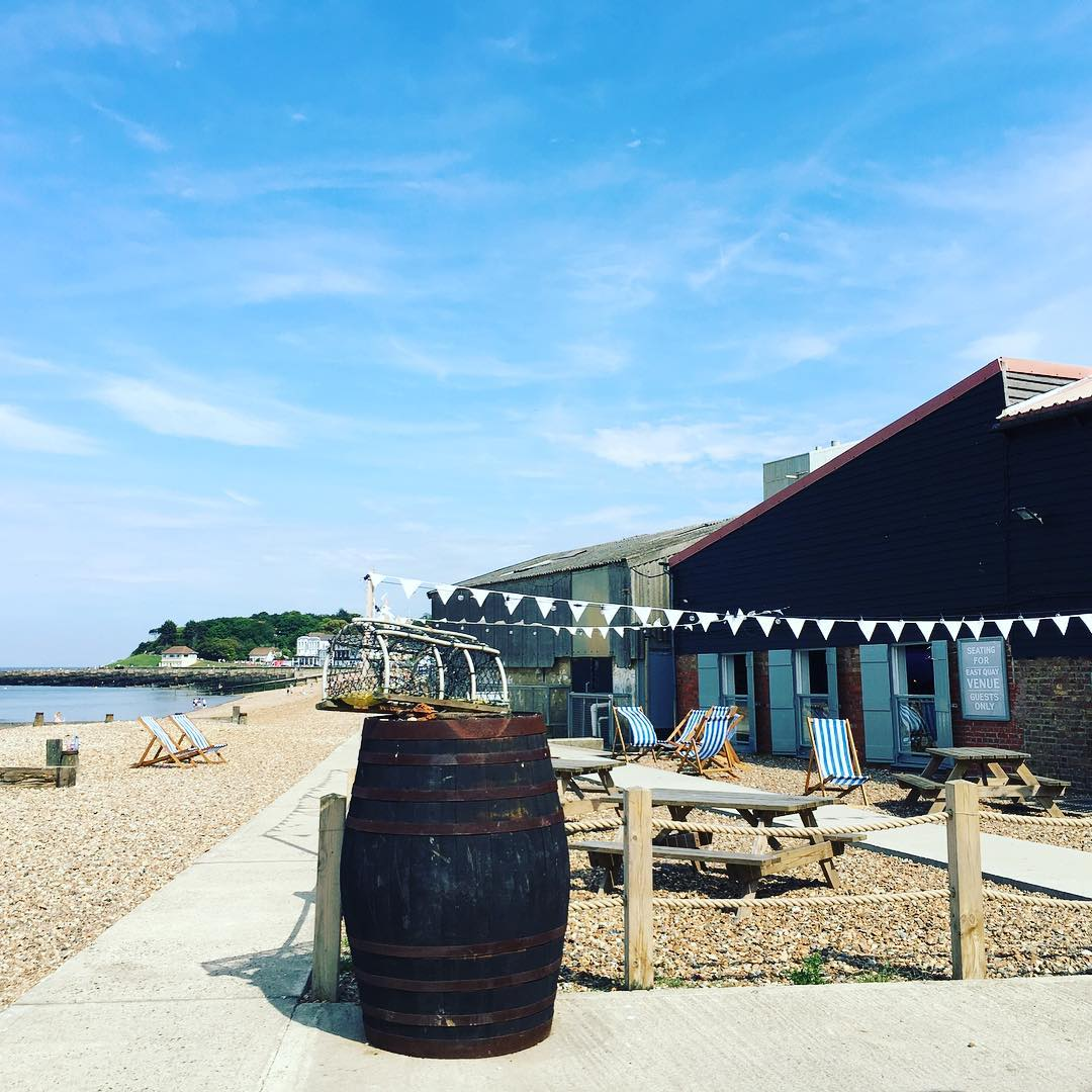 Best Places to Visit in England - Beach huts in Whitstable