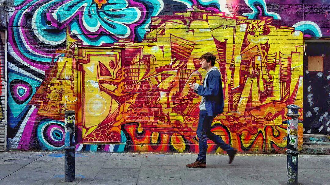 Best Places to Visit in England - Street Art in Shoreditch