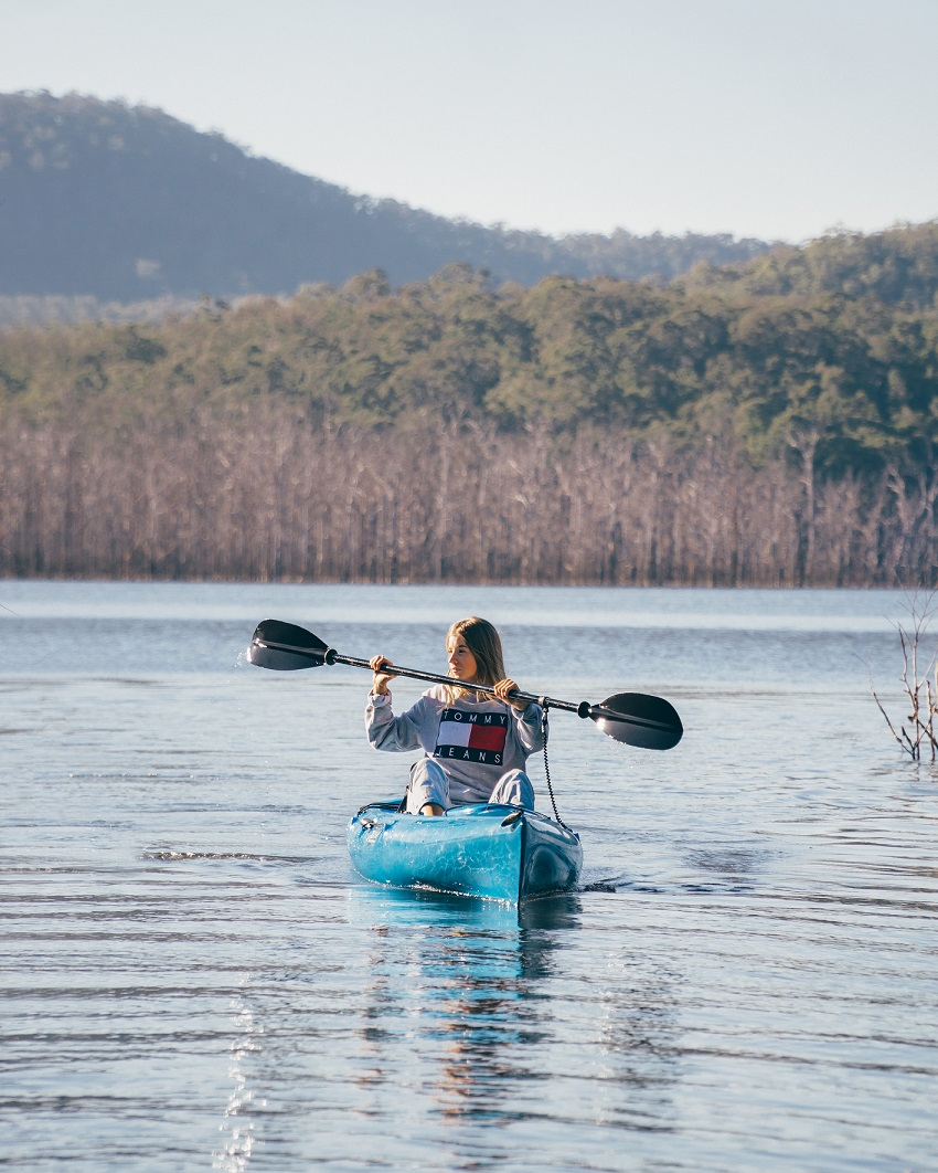 Things to Do on The Gold Coast - Kayaking on Advancetown Lake