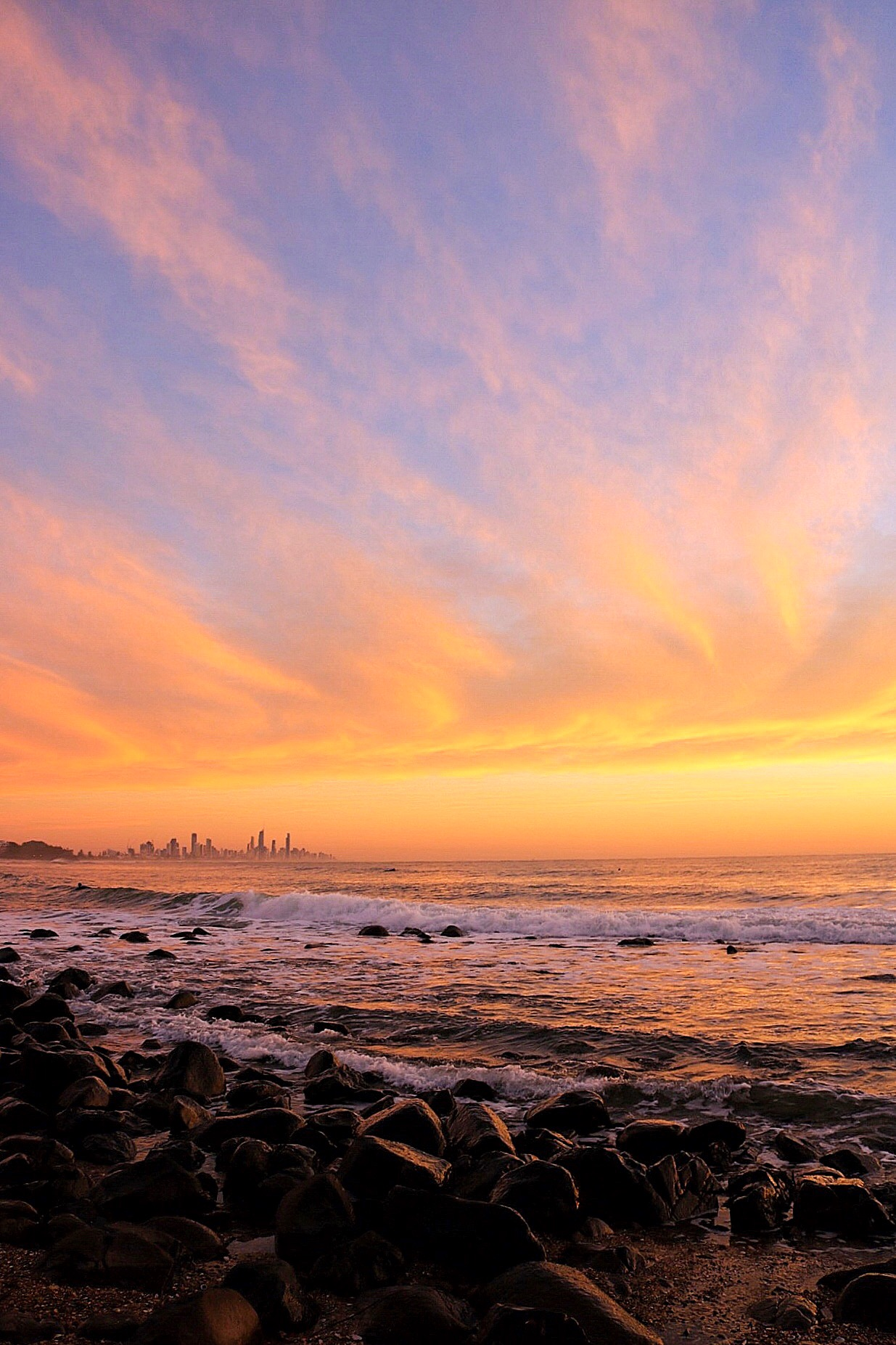 Things to Do on The Gold Coast - Watch the sun rise over Burleigh Beach