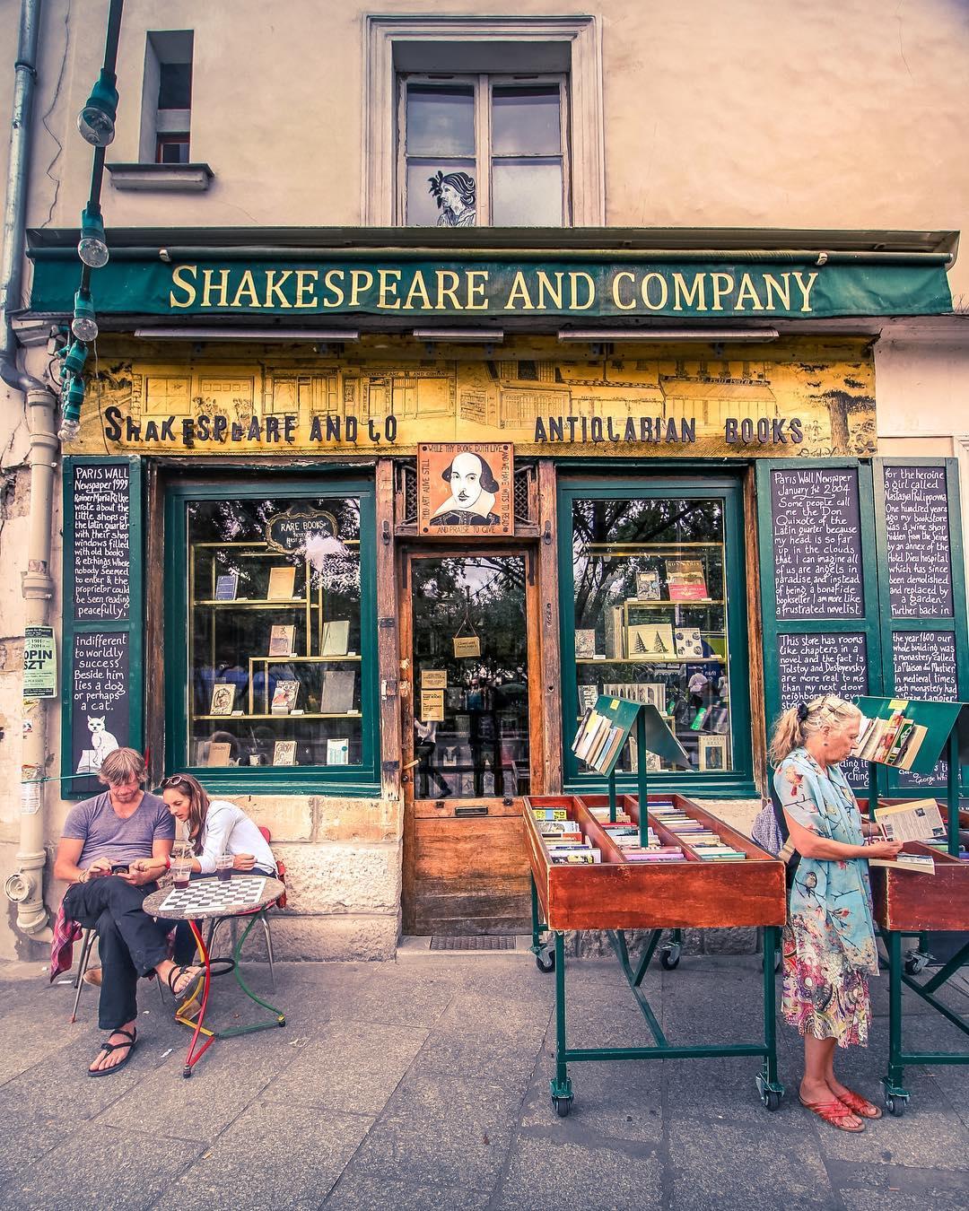 Dove Alloggiare A Parigi - Shakespeare and Comapny