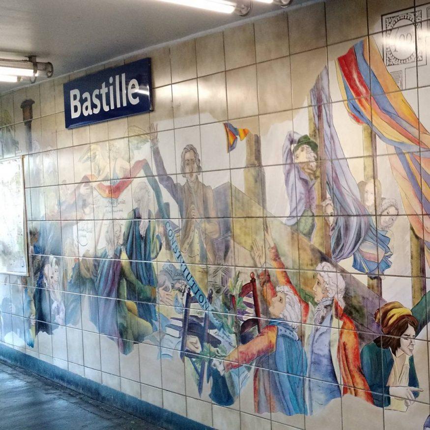 Cosa Fare A Parigi - Bastille Metro