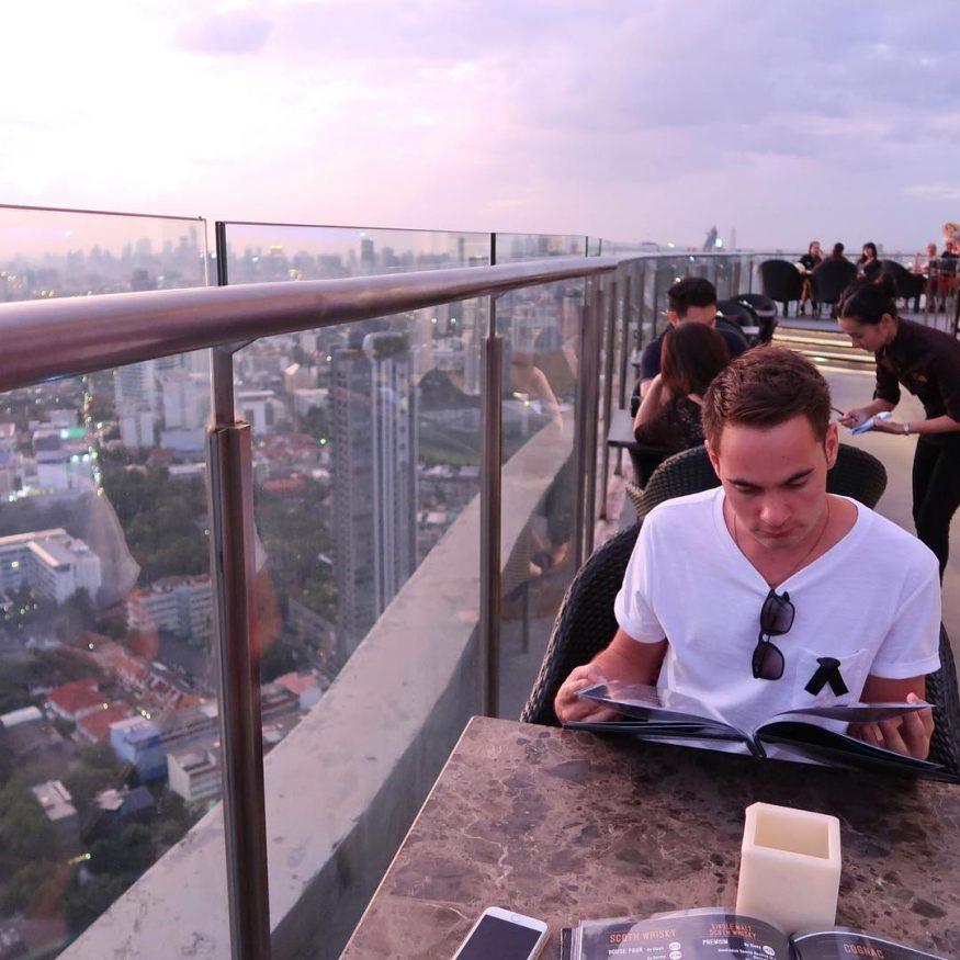 Best Bangkok Rooftop Bars - Cielo Rooftop Bar