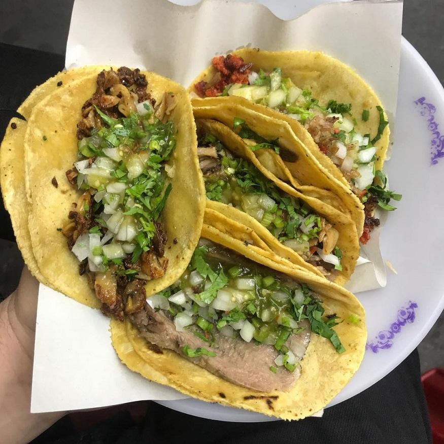 México Tacos en la ciudad de México