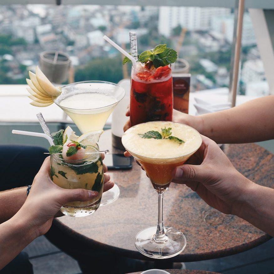 Rooftop Bars in Bangkok - Red Sky - Centara Grand at CentralWorld