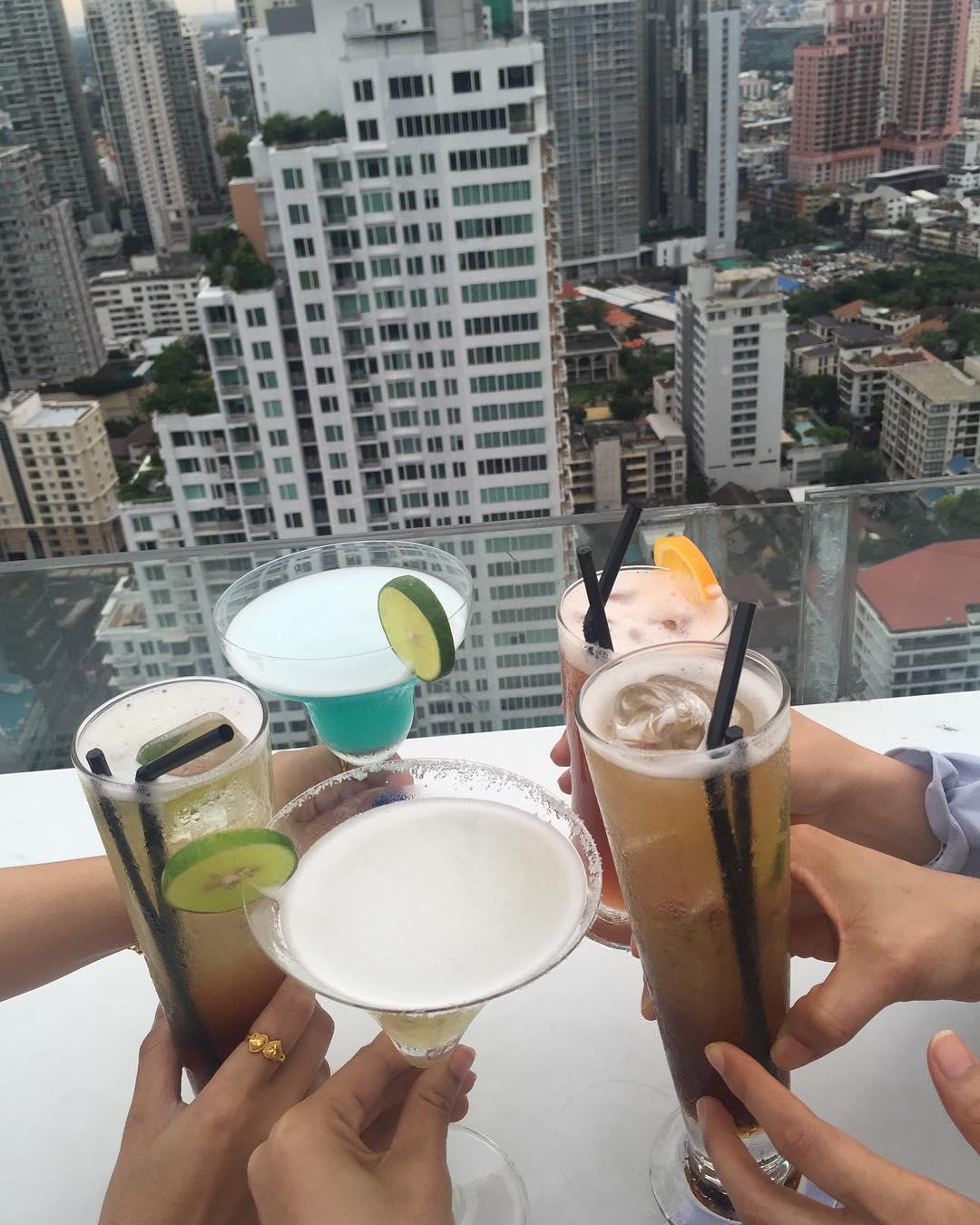 Best Rooftop Bars in Bangkok - Vanilla Sky