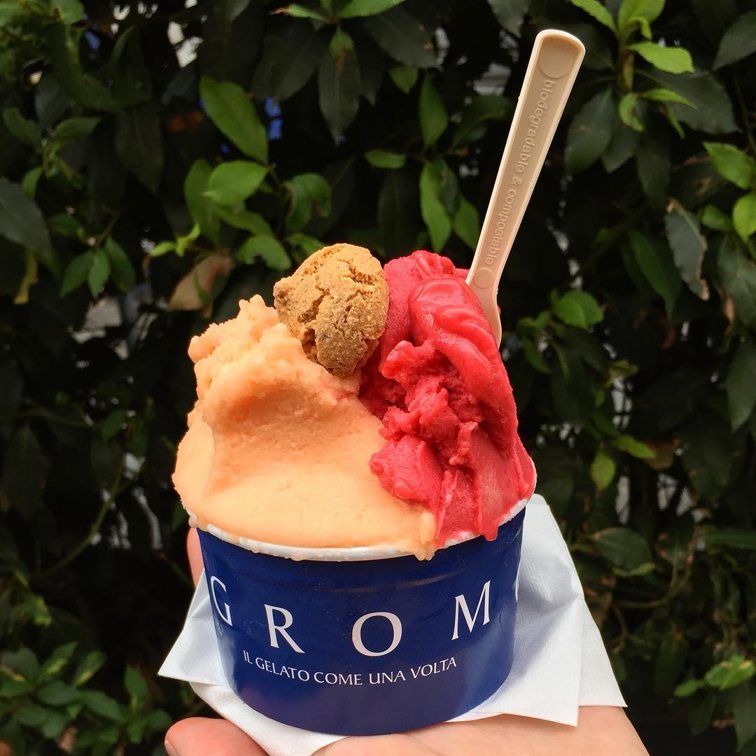 Cheap Eats in Paris - Ice Cream from Grom