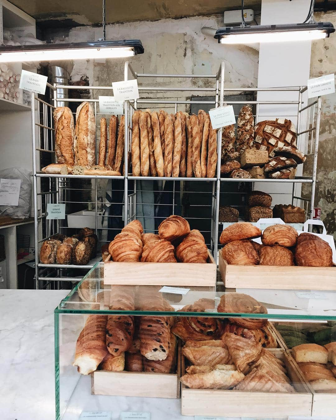 Cheap Eats in Paris - Bakeries and one euro croissants