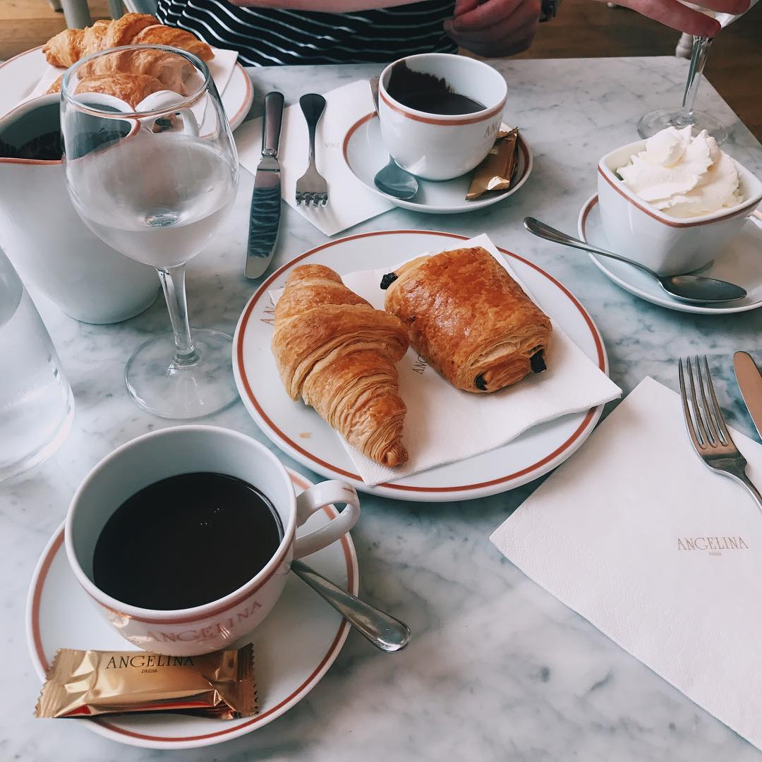 Cheap Eats in Paris - Cafe Angelina