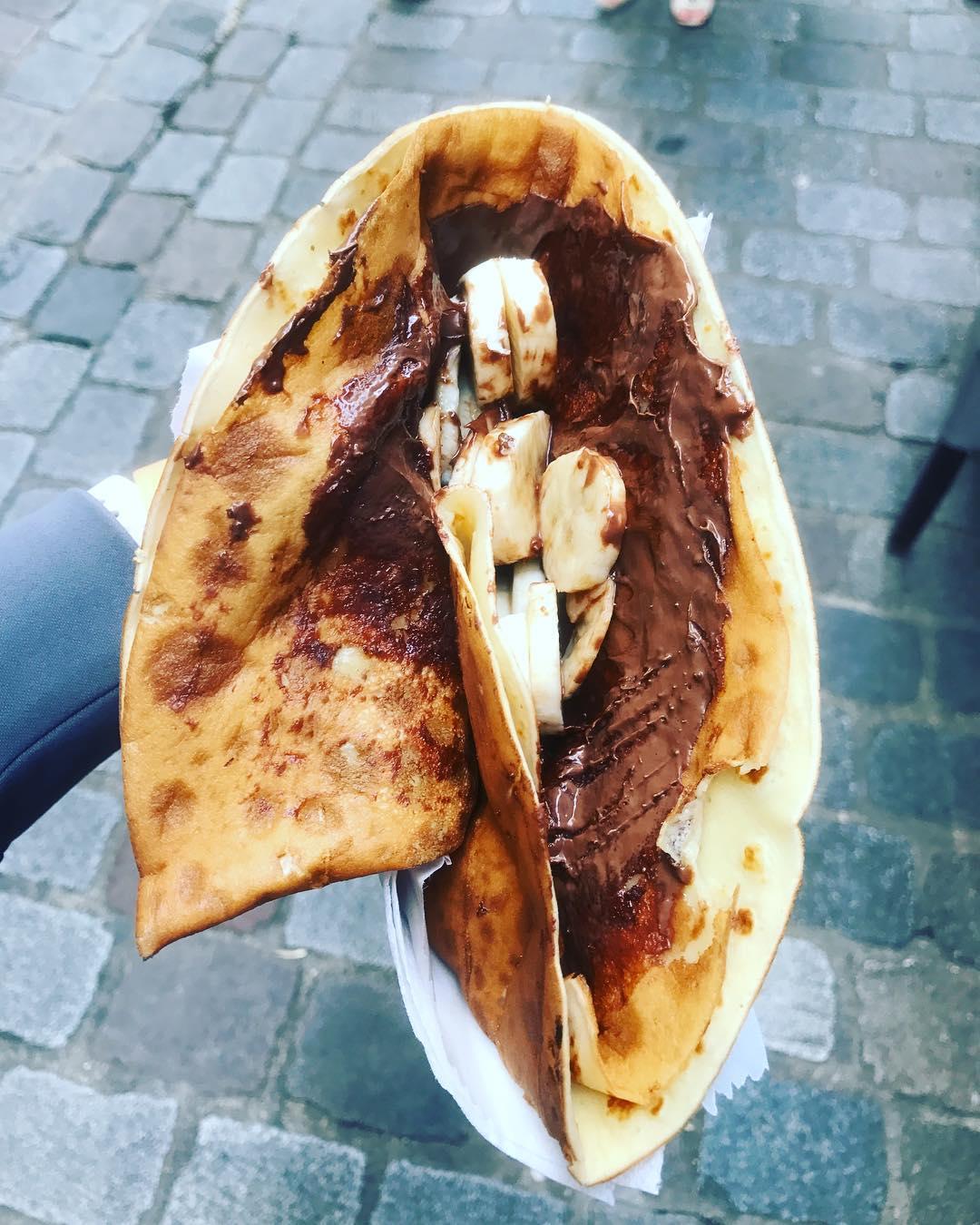 Cheap Eats in Paris - Crepes